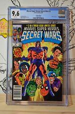 Marvel Super Heroes Secret Wars #2 CGC 9.6 RARE Canadian Price Variant (CPV)