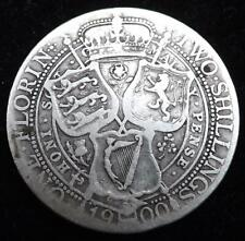 1900 Queen Victoria Florin / Two Shillings Coin - Great Britain.