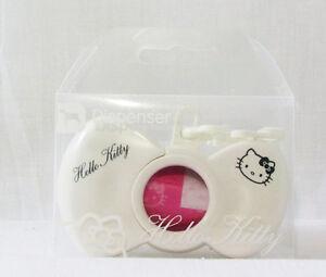 HELLO KITTY White Bow Dispenser Dog Pet Puppy Doggie Waste Bag Holder New
