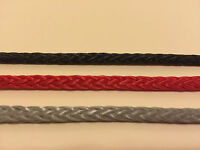 12 Strand Pre-Stretched Polyester 4mm  English Braids Various Colours Per Metre