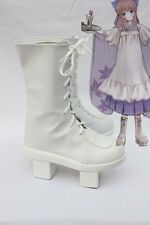 Vocaloid Luka Senbon Sakura Cosplay Costume Boots Boot Shoes Shoe