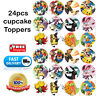 🏅24 Pokemon Go EDIBLE CUPCAKE TOPPER Cake Custom BIRTHDAY Party BABY Gifts