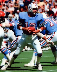 KEN STABLER 8X10 PHOTO HOUSTON OILERS FOOTBALL PICTURE NFL