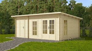 GOOD DEAL! Log cabin DOVER 6x4 m / Free delivery*