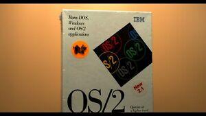 IBM OS/2 2.0 Ver 2.1 - CD-ROM Upgrade NFR