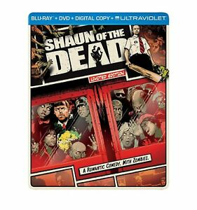 Shaun Of The Dead Limited Edition Comic Style Slip Cover Blu-ray DVD Region 4