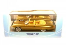1 43 Neo Cadillac Deville Convertible 1970 Golden-metallic