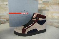 PRADA Gr 39 Stiefeletten Booties High-Top Sneakers Shoes multicolor neu UVP 550€