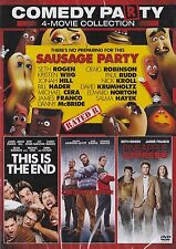 Comedy Party 4-Movie Sausage Party/This is the End/The Night Before/Pineapple Ex