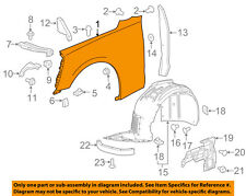 Chevrolet GM OEM 16-18 Camaro-Fender Right 23221296