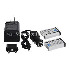 2x 1800mAh Battery+Charger NP-95 FNP 95 For FUJIFILM FinePix F30 zoom