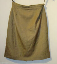 Laura Ashley Wool Checked A-line Skirts for Women