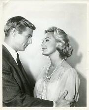 JAMES FRANCISCUS DINA MERRILL THE INVESTIGATORS ORIGINAL 1959 CBS TV PHOTO