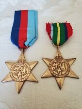 WWII BRITISH ARMY MEDALS,  NAMED