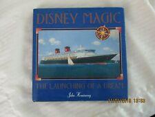 Disney Magic Launching of a Dream, Heminway, Cruise Ship Book1998, Exc Condition