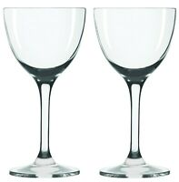 Nick & Nora Cocktail Glasses - Set of 2 (5oz) Small Plain Vintage Coupe Glass