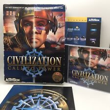 Civilization Call To Power (PC: Windows, 1999) Big Box Edition