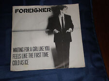 """FOREIGNER - WAITING FOR A GIRL LIKE YOU - 1981 ATLANTIC PIC. SLEEVE 7"""" - EXC."""