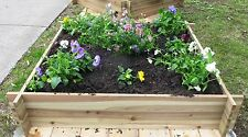 Raised Timber Garden Bed Flat Pack - Easy to assemble