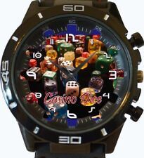 Casino Dice New Gt Series Sports Unisex Gift Wrist Watch UK SELLER