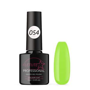 054 LETUTE™ lime Soak Off UV/LED Nail Gel Polish