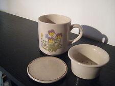Tasse Mug filtre Thé Infusion Violette