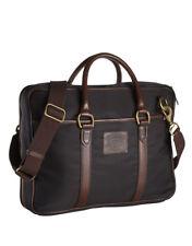 NEW Polo Ralph Laure Equestrian Nylon Commuter Bag Black Laptop Bag $350