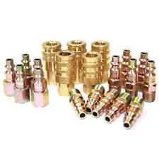 "20 Pack Air Hose Coupler Kit 1/4"" plugs fittings nipples - CH44KIT-2"