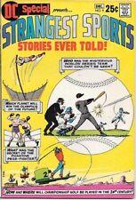 Dc Special Comic Book #9 Strangest Sports Stories Dc Comics 1970 Near Mint-