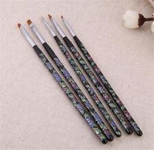 5pcs Dotting Painting DIY Brush Pen Tool set Acrylic UV Gel Nail Art Design Tips