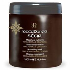 Maschera Nutriente Macadamia Star - 1000 ml - RR Real Star COD. 17074