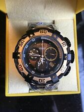 @NEW Invicta Reserve Gold IP Thunderbolt Swiss Movt Chronograph Watch 21367