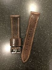 Antique Buffalo Leather Watch Strap  By US Leather Artisan