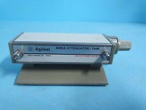 AGILENT 8495A Attenuator DC-4 GHz 70dB Option 2