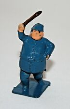 CHARBENS Lead Toy CIRCUS CLOWN IN BLUE COSTUME with CLUB. Pre-War. Hallmark