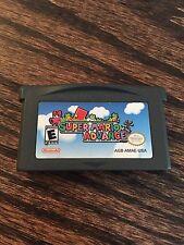 Super Mario Advance Nintendo Gameboy Advance GBA Cart