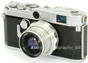 Canon VL2 - 35mm Japanese Rangefinder Camera + Industar-26M 2.8/52mm Lens
