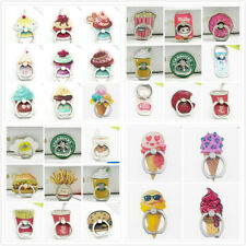 Phone Bracket Grip Finger Ring Stand holder Coffee Donuts Burger Fries Drink