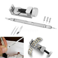 Metal Watch Band & Bracelet Link Remover Repair Tool + Spring Bar w/ Extra Pins