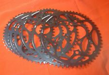 NEW STRONGLIGHT  130BCD BLACK CHAINRINGS, 38-53t