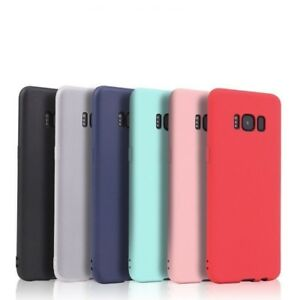 Silicone Ultra Slim Cover Case Protector Bumper Multi Colours for Huawei Mobiles