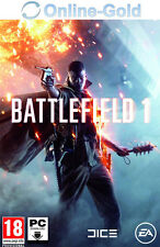 Battlefield 1 Key - PC Game Key - EA Origin Digital Code BF Eins NEU [EU][DE]