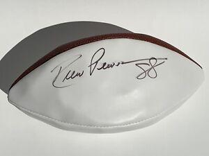 """Signed """"Drew Pearson 88"""" — Superbowl XLV White Panel Commemorative Football"""