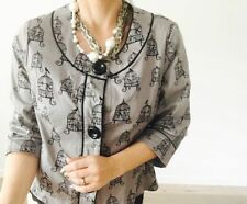 Cotton Animal Print Machine Washable Coats & Jackets for Women