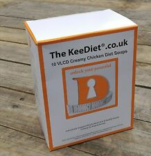 Meal Replacement VLCD Diet Weight Loss 10 x KeeDiet® Creamy Chicken Diet Soup