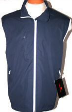 The Weather Company Mens Golf Vest Waterproof Jacket Navy Blue S M L Xl 2Xl 3Xl