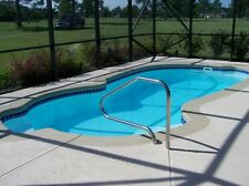 "Inground Fiberglass Swimming Pools 12X25X5'6"" $10,300 Save $"