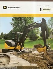 Equipment Brochure - John Deere - 60D - Excavator - c2008 - French (E1872)