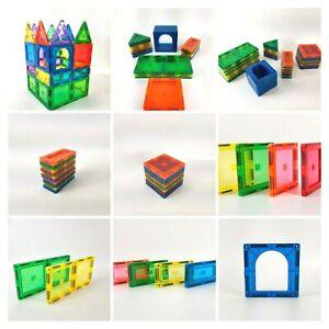 Magnetic Building Blocks Tiles Set Kids Toys Educational , Gifts Toys 10 -116pcs
