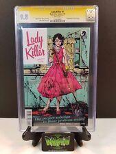 LADY KILLER #1 1ST PRINT CGC SS 9.8 SIGNED JOELLE JONES 1ST APP.  JOSIE SCHULLER